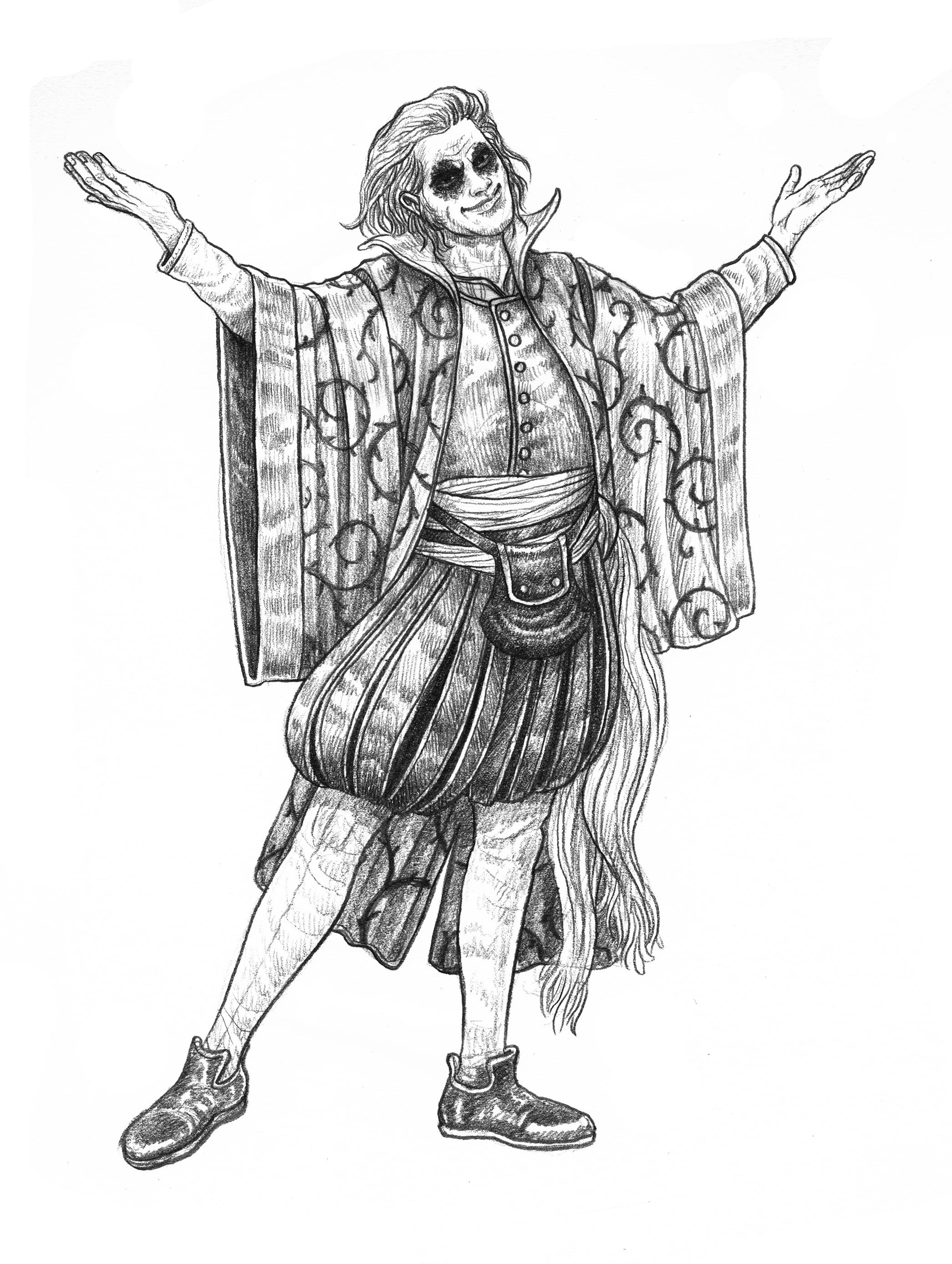 ZWEIHÄNDER Grim & Perilous RPG: Jester (Image: Grim & Perilous Studios)
