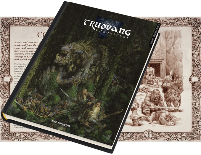 Trudvang Chronicles RPG: Game Master Guide (Image: Riotminds)
