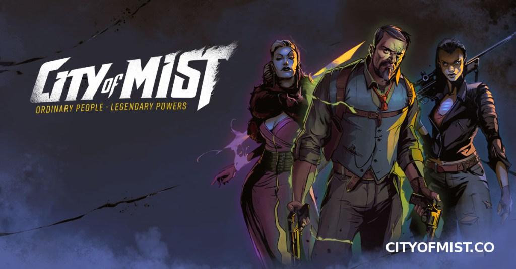 City of Mist roleplaying game (Image: Son of Oak Game Studio)