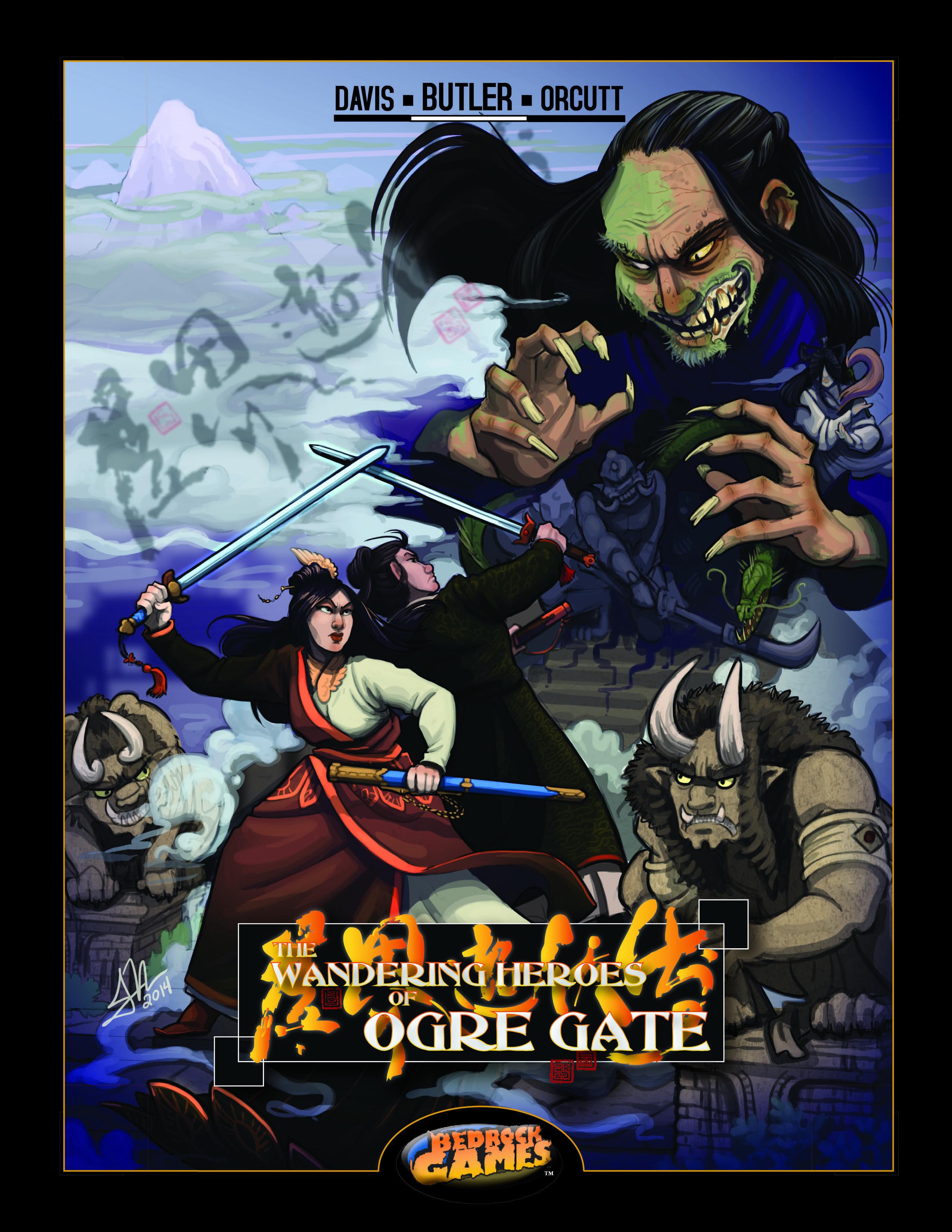 Wandering Heroes of Ogre Gate RPG (Image: Bedrock Games)
